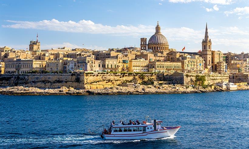 72 horas en Malta, donde el sol se mezcla con el mar