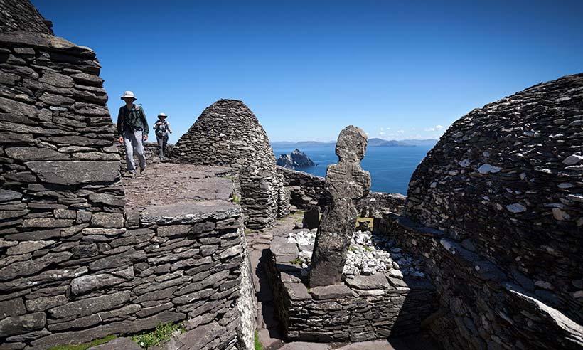 Las islas Skellig, la inspiración del universo Star Wars