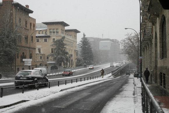 Las im genes m s asombrosas del temporal de fr o y nieve que sacude a todo el pa s foto 1