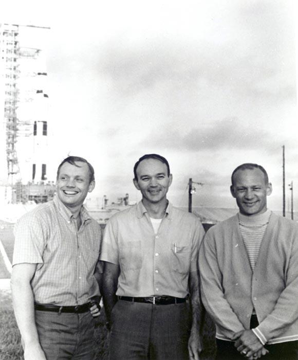 Los cuatro astronautas que llegaron a la luna