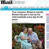 Un amor de película en la vida real: 60 años casados y todas las mañanas una rosa junto a la almohada