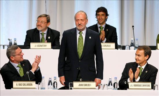 Así fue la brillante presentación de Madrid 2016 con la participación del Rey, Zapatero, Samaranch y Raúl