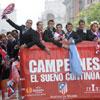 La fiesta del Atlético de Madrid en fotos: la capital recibió a los jugadores del club rojiblanco tras su triunfo en la Liga Europa