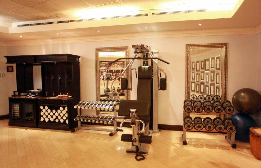 Mundial 2010 entramos en los lujosos hoteles donde se - Decoracion de gimnasios ...