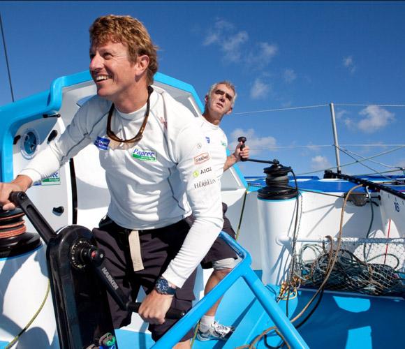 Loïck Peyron será el compañero de Jean-Pierre Dick en la 'Barcelona World Race'
