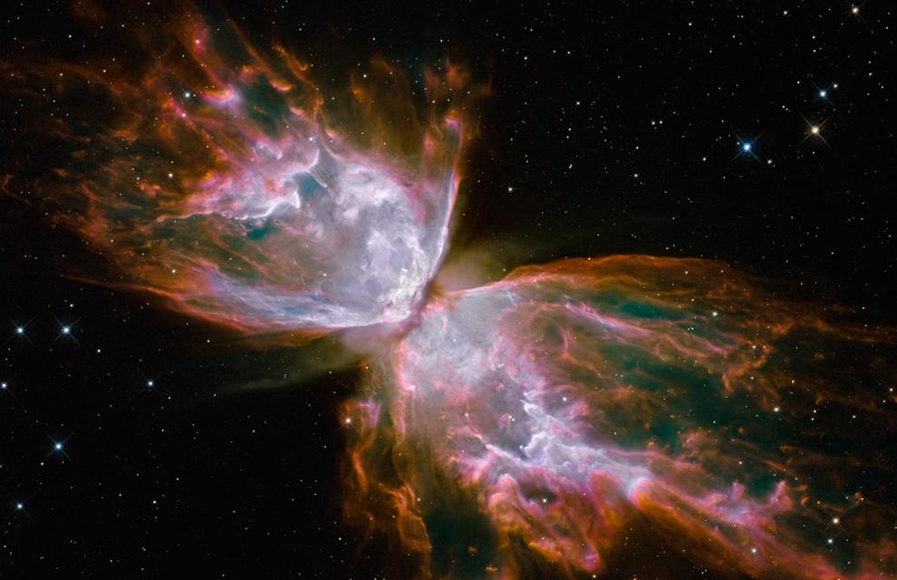 nebulosa NGC 6302 de la constelación de Escorpión