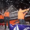 El vuelco en la clasificación de la tercera etapa vuelve a colocar al equipo francés 'Safran' en el liderato