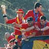 En fotos: la histórica celebración en Madrid con los héroes de 'la Roja'