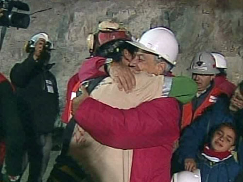Chile celebra la liberación de los 33 mineros que durante 70 días sobrevivieron a 700 metros de profundidad