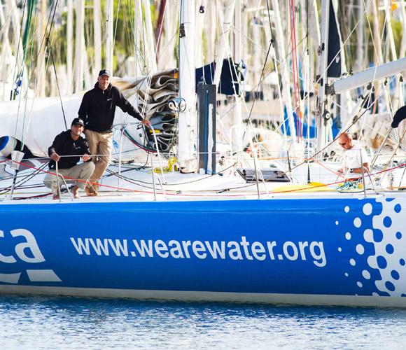 Jaume Mumbrú y Cali Sanmartí participarán en la competición a bordo del 'We Are Water'