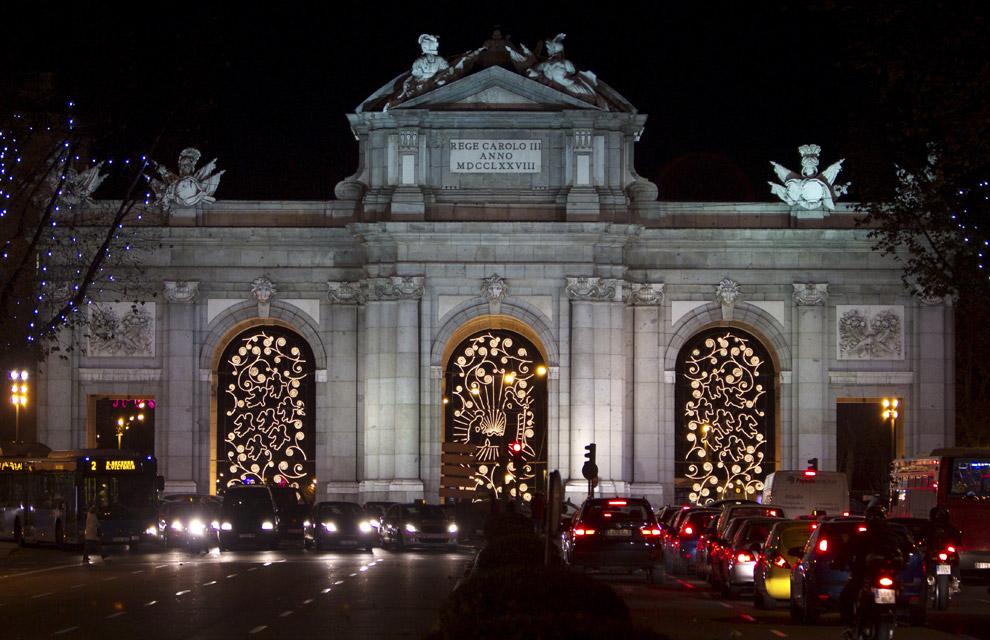 Image gallery navidad en madrid - Luces de navidad ...
