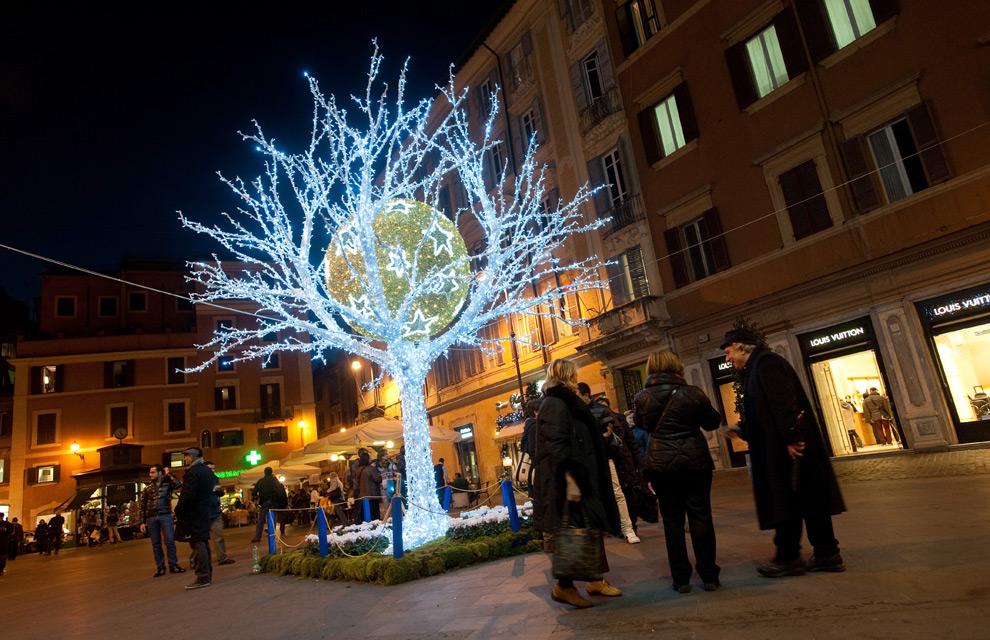 Las luces de Navidad que iluminan el mundo Navidad-roma--a