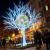 En fotos: el mundo se llena de luz y de color para recibir a la Navidad