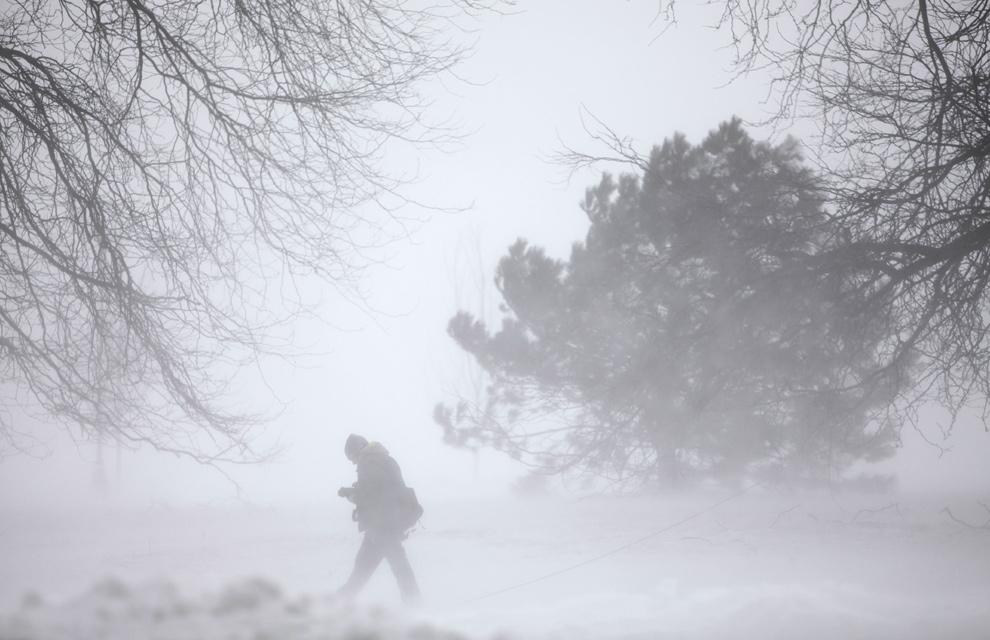 Las imágenes más impresionantes de Chicago tras el temporal de nieve