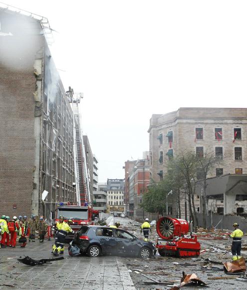 Un doble atentado en Oslo deja al menos 92 muertos y decenas de heridos