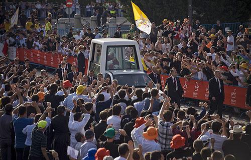 JMJ 2011: El Santo Padre ofrece una misa a 5.000 seminaristas en la catedral de La Almudena