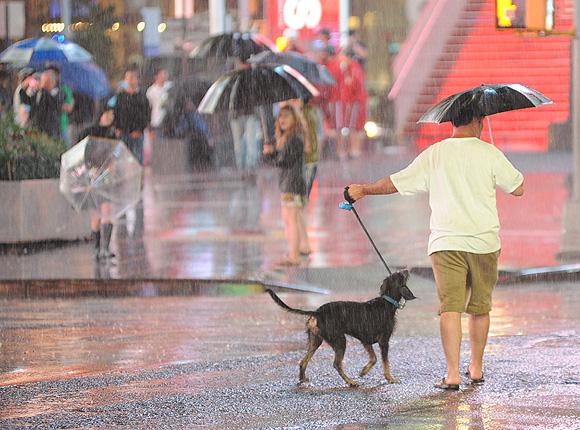 La ciudad de Nueva York, blindada ante la llegada del huracán 'Irene'