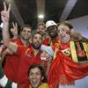 Los campeones de Europa de baloncesto ya están en Madrid y festejarán en título en Callao con los aficionados