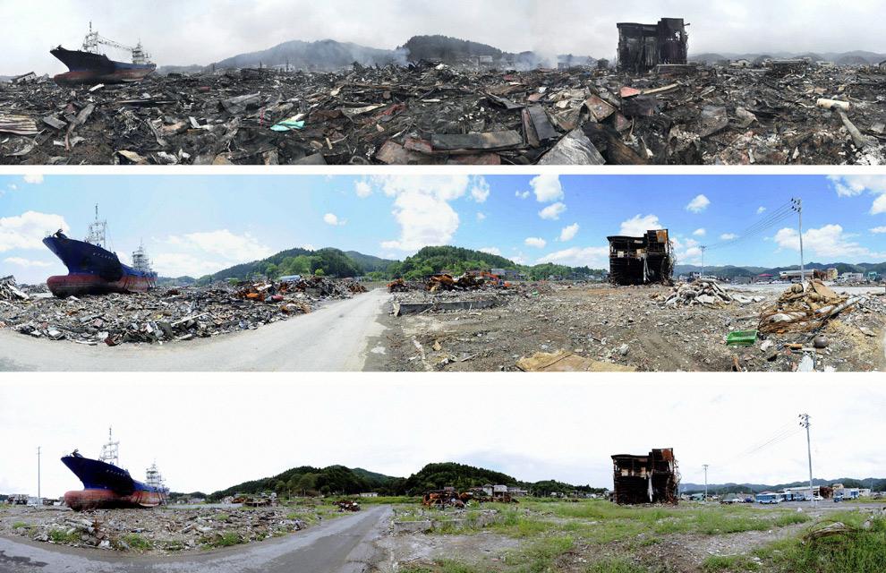 Fotos a toda pantalla: Así está Japón seis meses después del tsunami