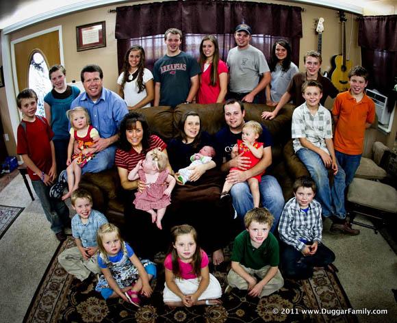 La familia numerosa m s famosa de estados unidos espera a Aquarium familia numerosa