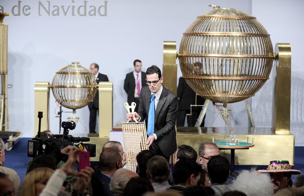 Las fotos m�s curiosas del sorteo de la Loter�a de Navidad 2011