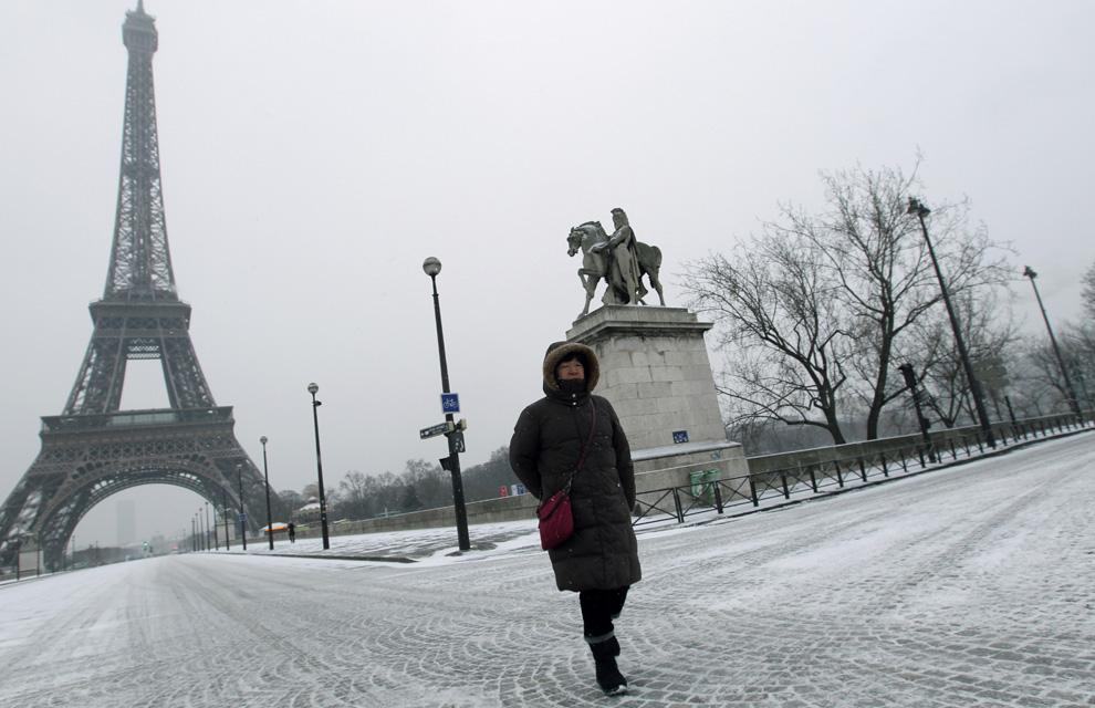 Resultado de imagen de nevadas en europa