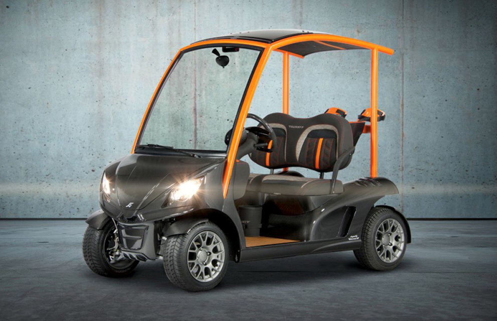 El coche de golf más caro del mundo... ¡incluye una nevera!