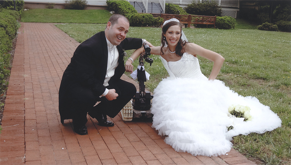 ¿Qué hace un robot en una boda?