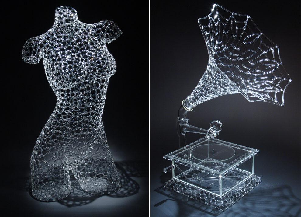 Cuando el cristal se convierte en arte