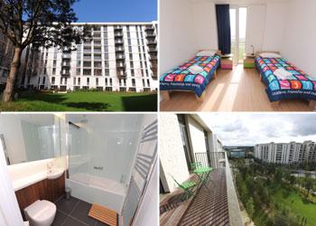 Londres 2012: Así son la villa olímpica y los apartamentos de los atletas