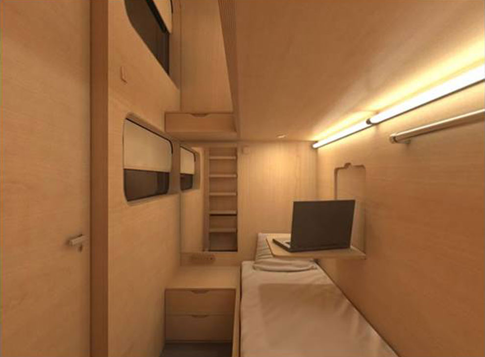 Habitaciones para dormir en un aeropuerto de china for Hotel design genes