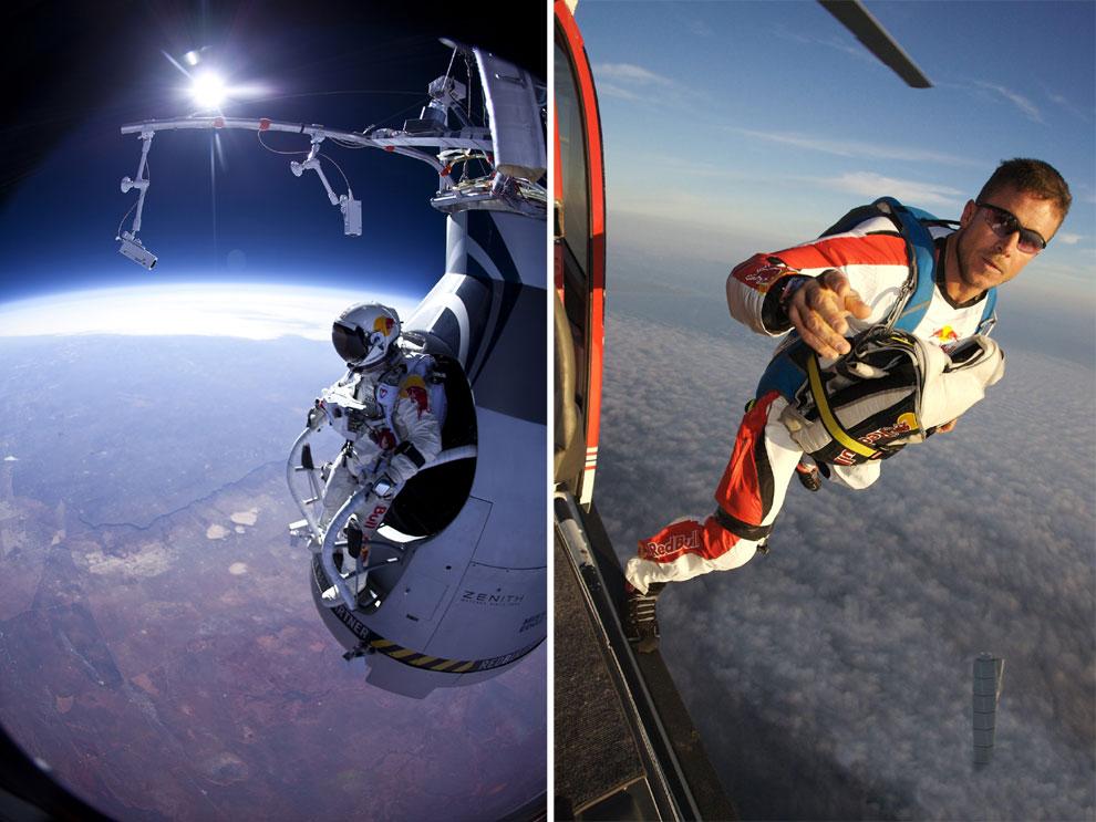 Felix Baumgartner, el primer hombre supersónico