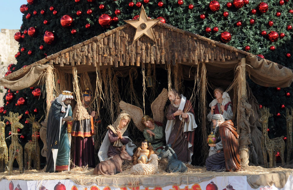 Belenes en todo el mundo para celebrar la navidad - Nacimiento para navidad ...