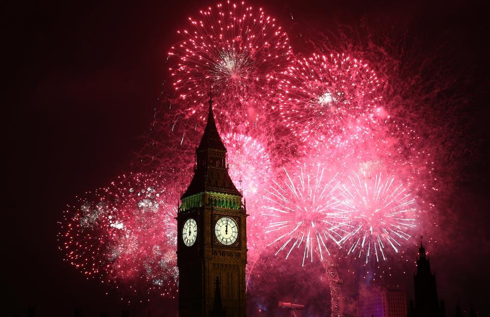 ¡Bienvenido 2013! Así celebró el mundo la llegada del nuevo año