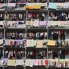 En China, cualquier lugar es bueno para tender la colada