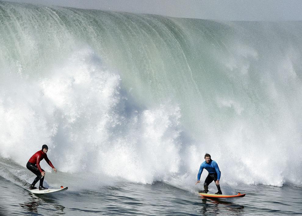 Las olas más grandes... para los surfistas más intrépidos