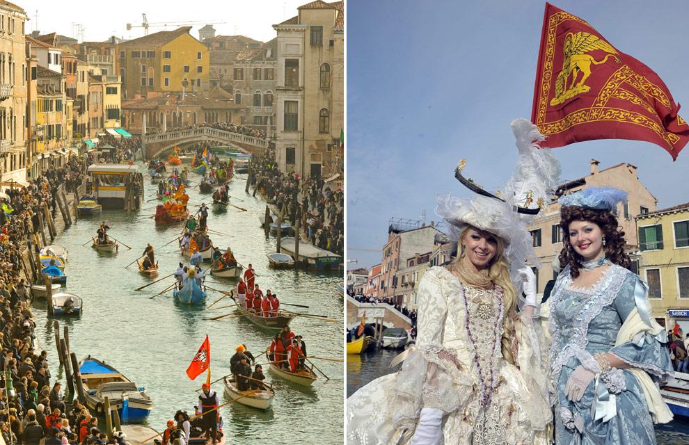 El carnaval de venecia arranca con el tradicional desfile - Trajes de carnaval de epoca ...