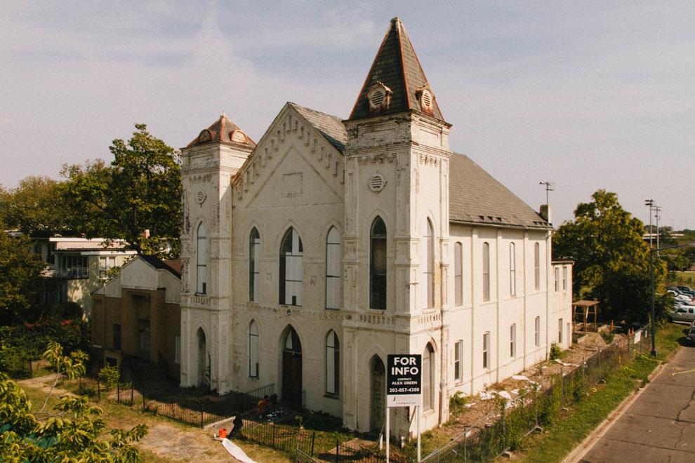 La iglesia que cambió de look