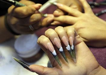 Unas uñas de campeonato olímpico
