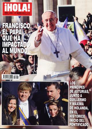 En ¡HOLA!: Francisco, el Papa que ha impactado al mundo