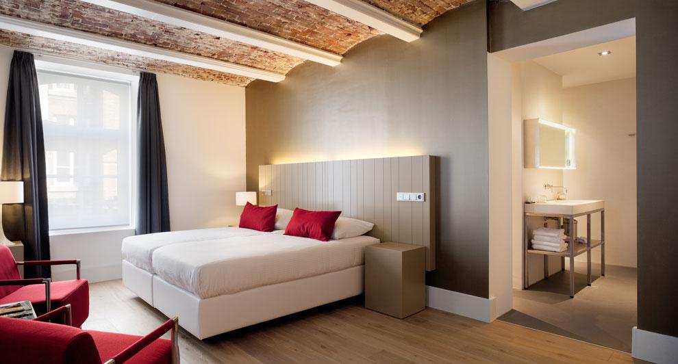Antes era una prisi n y ahora un hotel de lujo for Hoteles de lujo habitaciones