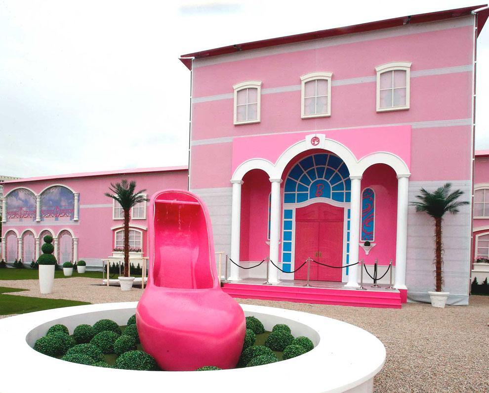 As es la 39 casa de ensue o de barbie 39 for Cosas decorativas para la casa