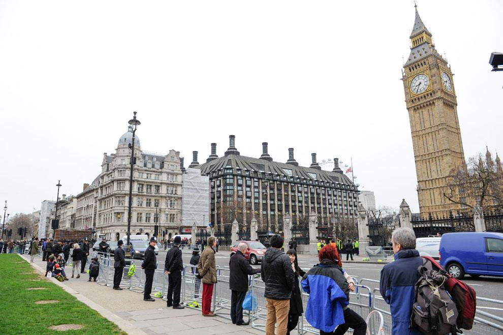 Funeral con honores militares para Margaret Thatcher en Londres