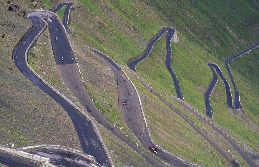 Las carreteras más extrañas del mundo