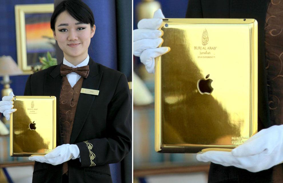 Un hotel de Dubái ofrece iPads de oro a sus huéspedes