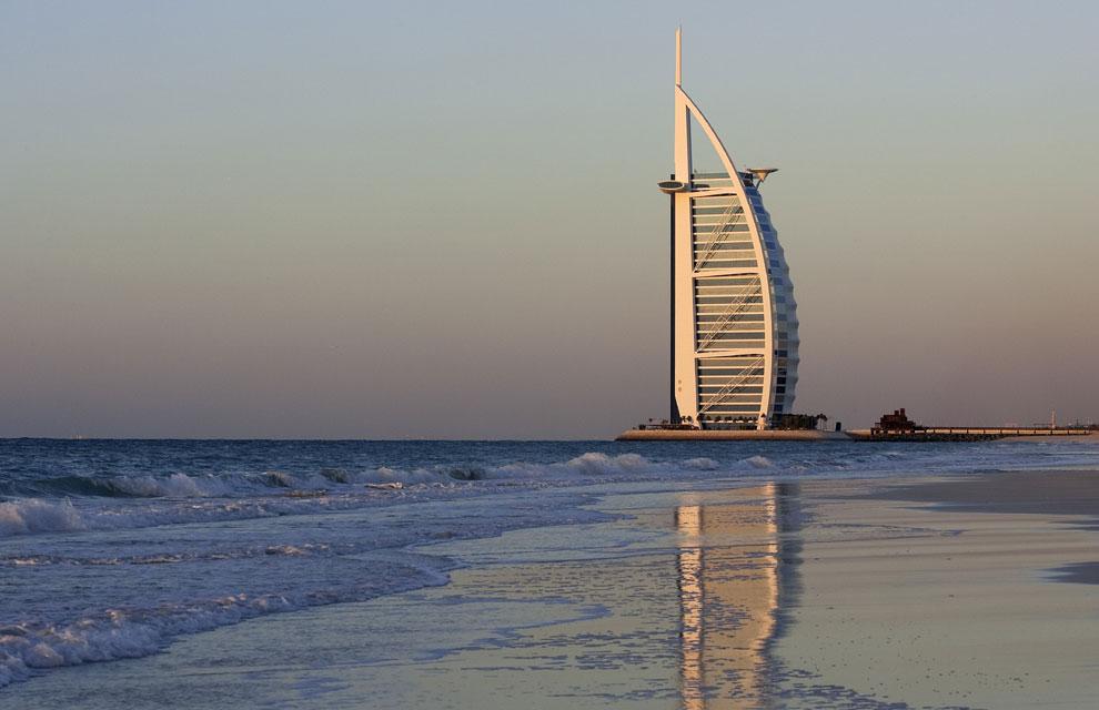 Un hotel de dub i ofrece ipads de oro a sus hu spedes for El arab hotel dubai