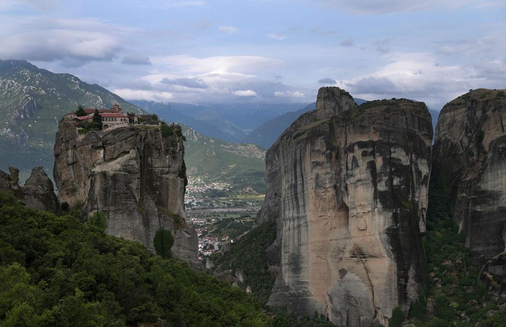 Los monasterios de Meteora: fe en las alturas