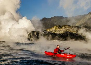 La temeraria odisea de un intrépido kayakista