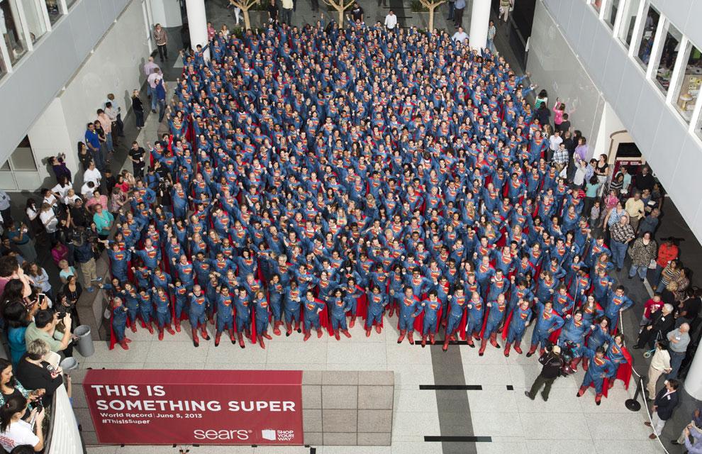 ¿Cuántos Superman ves en la foto?