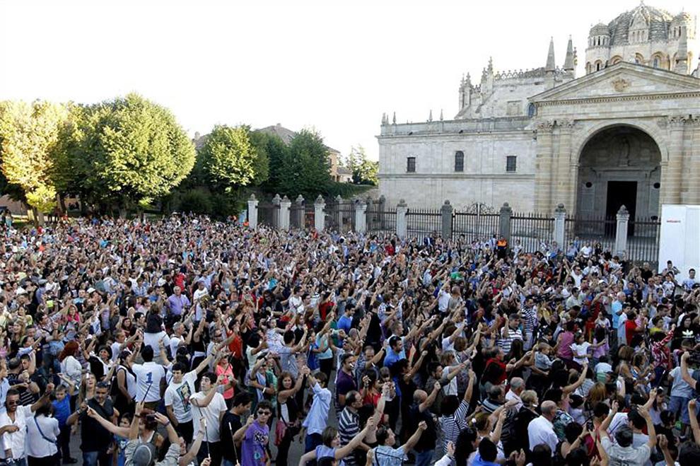 Un momento 'mágico' bate el récord Guinness en Zamora